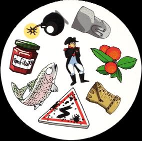 Dooble Corsica, une carte du jeu
