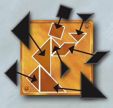 Enigma, puzzle tangram