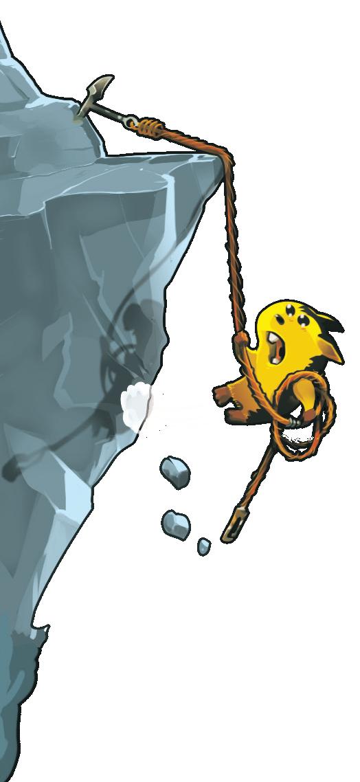 Lemming, la doublure de Stalone dans Cliffhanger