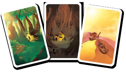 Lemming, quelques cartes déplacement