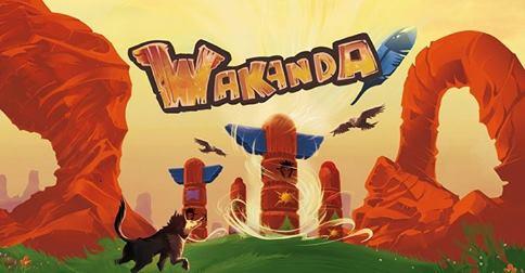 Wakanda, illustration de couverture © Blue Orange / Billiau / Chevallier