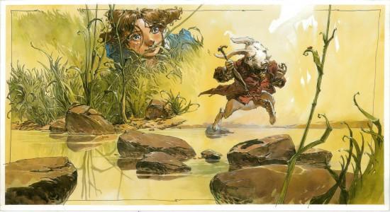Alice au pays des merveilles, illustration de l'album © Rue de Sèvres / Sorel
