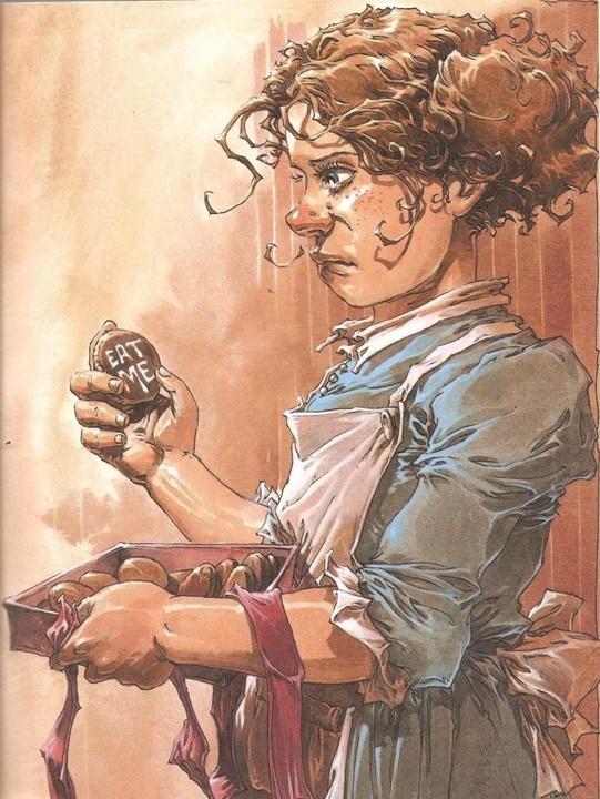 Alice au pays des merveilles, illustration de l