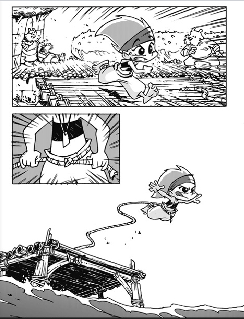 Appa, planche du tome 1 version manga © Bamboo / Dav / Bonis