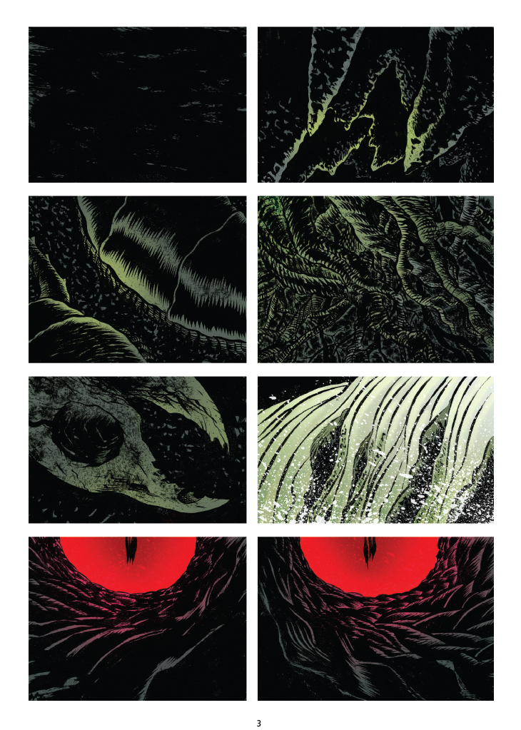 Beowulf, planche de l'album © Casterman / Rubin / Santiago