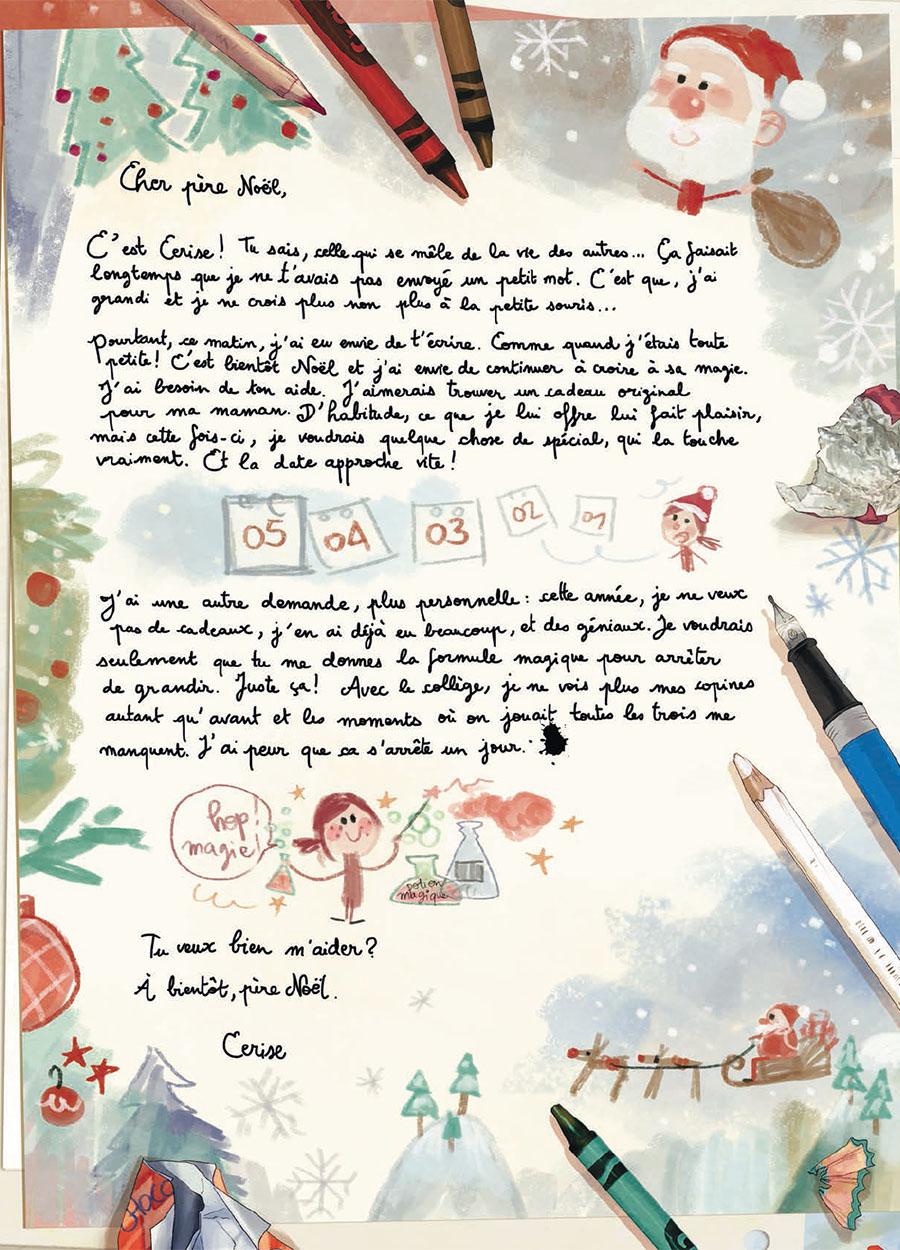 Les Carnets de Cerise, planche du tome 3 © Soleil / Neyret / Chamblain