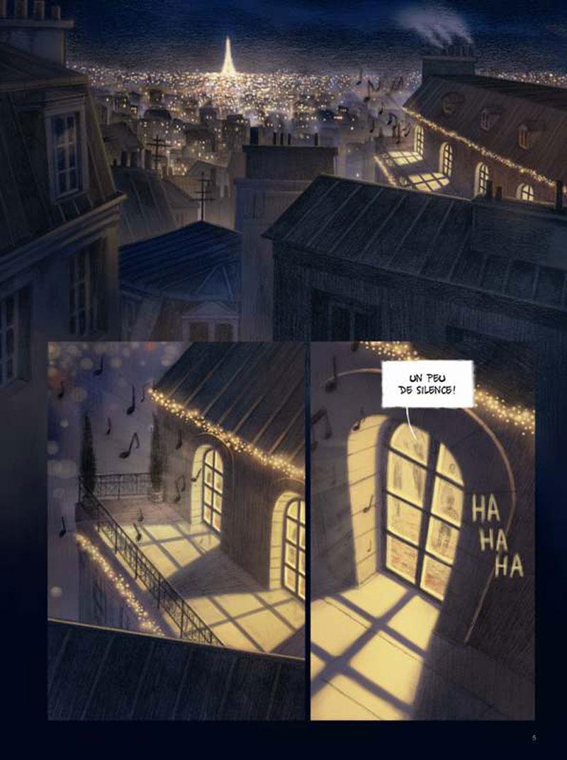 Chaque soir à onze heures, planche de l'album © Casterman / Benyamina / Simon