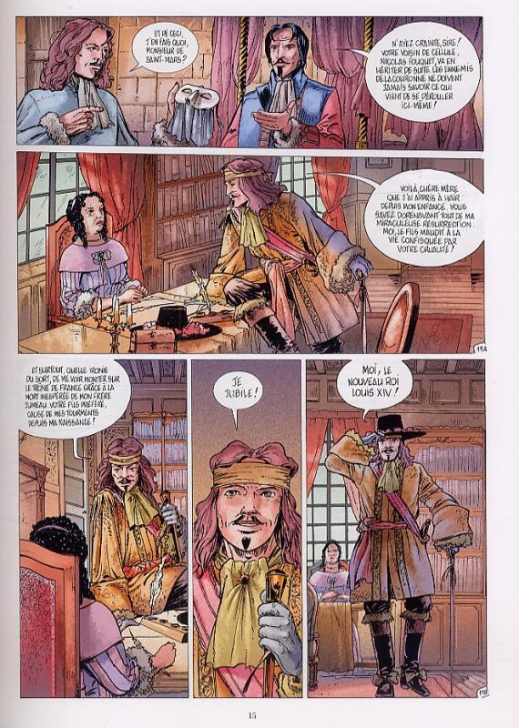 Le Chevalier Mécanique, planche du tome 3 © Sandawe / Mor / Mainil