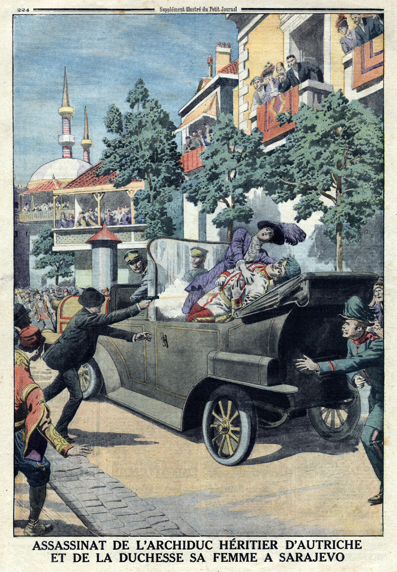François Ferdinand, illustration du Petit Journal