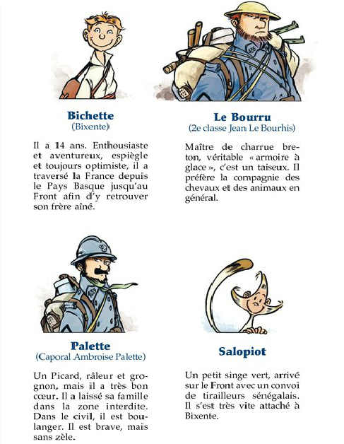 Les Godillots,illustration du tome 1 du roman © Bamboo / Marko / Olier