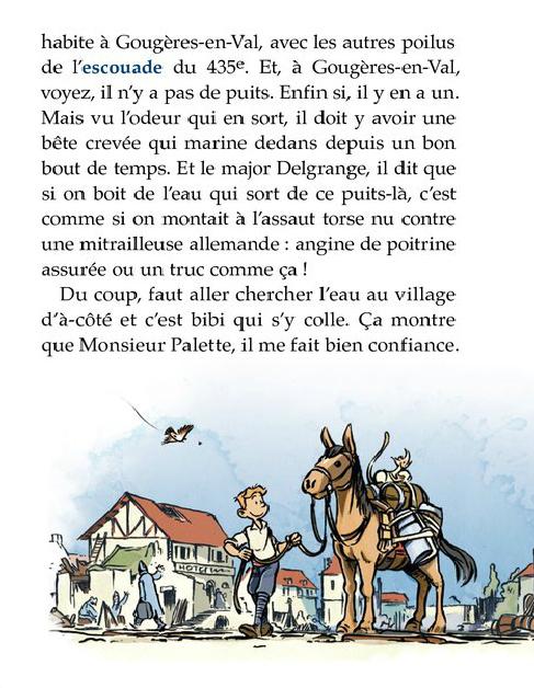 Les Godillots, les personnages du roman © Bamboo / Marko / Olier