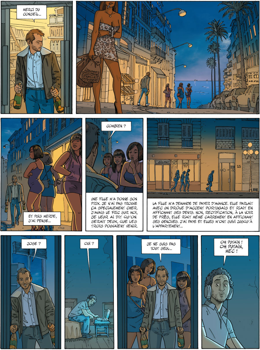 HElena, planche du tome 1 © Bamboo / Chabane / Jim / Delphine