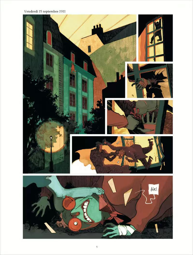 La Colère de Fantômas, planche du tome 3 © Dargaud / Rocheleau / Bocquet