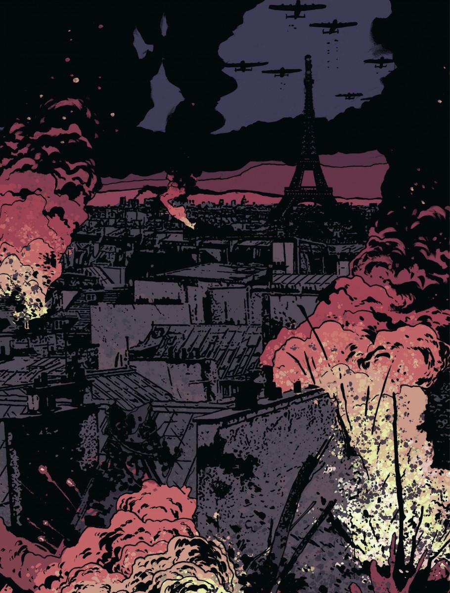 La Mondaine, planche du tome 1 © Dargaud / Lafebre / Zidrou