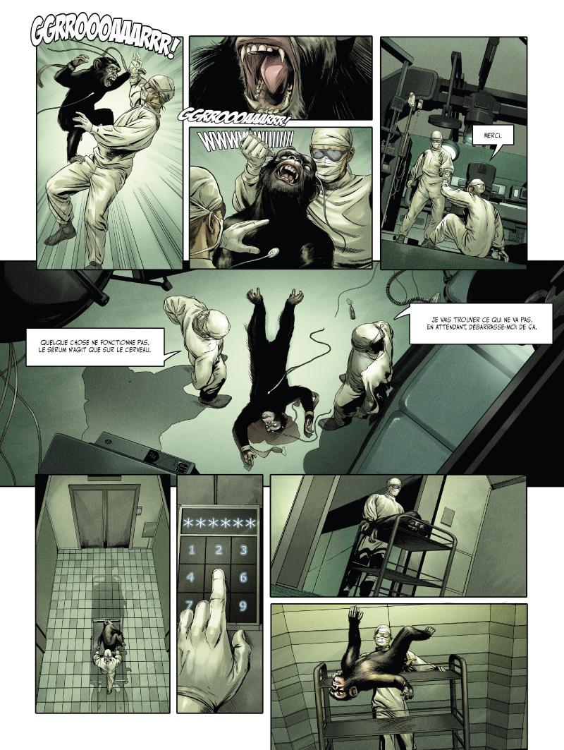 la nuit des morts vivants, planche du tome 1 © Vents d