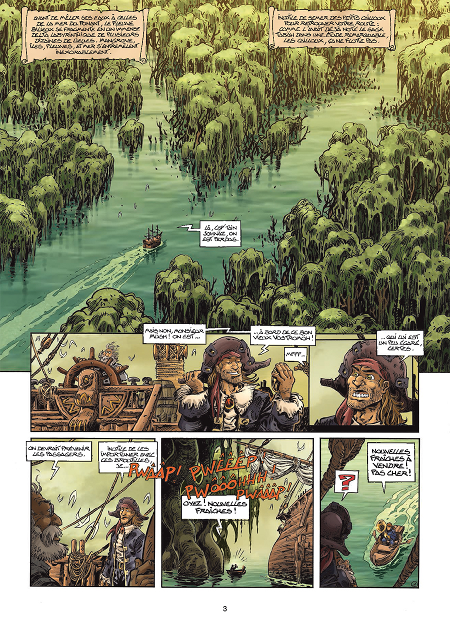 Lanfeust Odyssey, planche du tome 6 © Soleil / Tarquin / Arleston / Lise