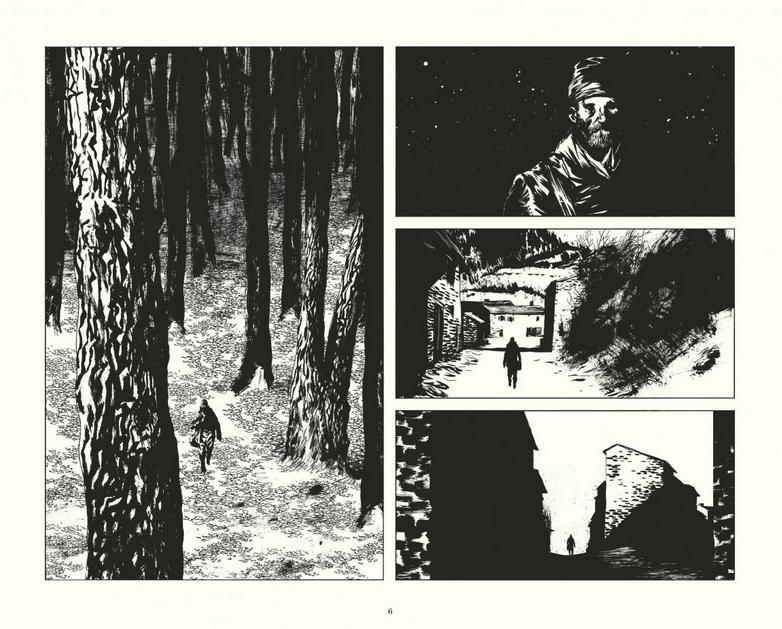 Le rapport de Brodeck, planche du tome 1 © Dargaud / Larcenet