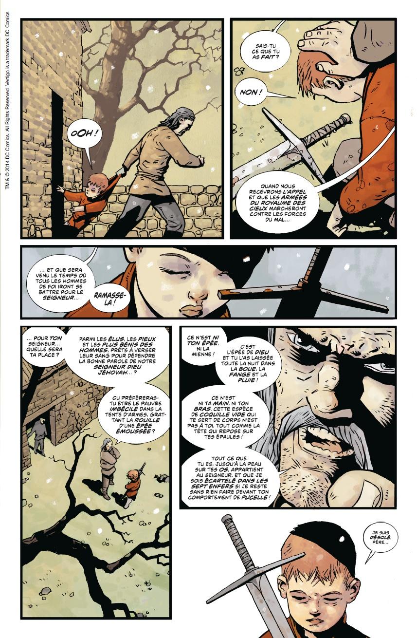 Northlanders, planche du tome 1 © Urban Comics / Ormston / Wood