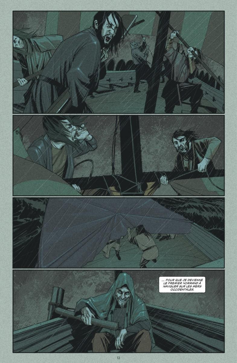 Northlanders, planche du tome 2 © Urban Comics