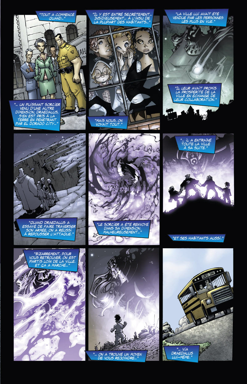 Out There, planche du tome 3 © Glenat / Ramos / Augustyn
