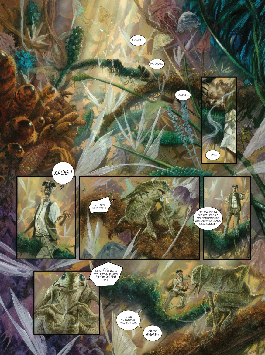 Rayons pour Sidar, planche du tome 1 © Ankama / Civiello / Mangin