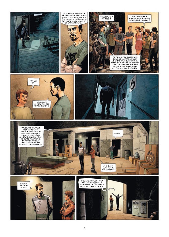Zombies Néchronologies, planche du tome 2 © Soleil / Boudoiron / Peru
