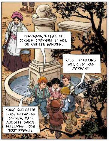 Un village français, planche du tome 1 © Soleil / Gaudin / Aleksi / Facio