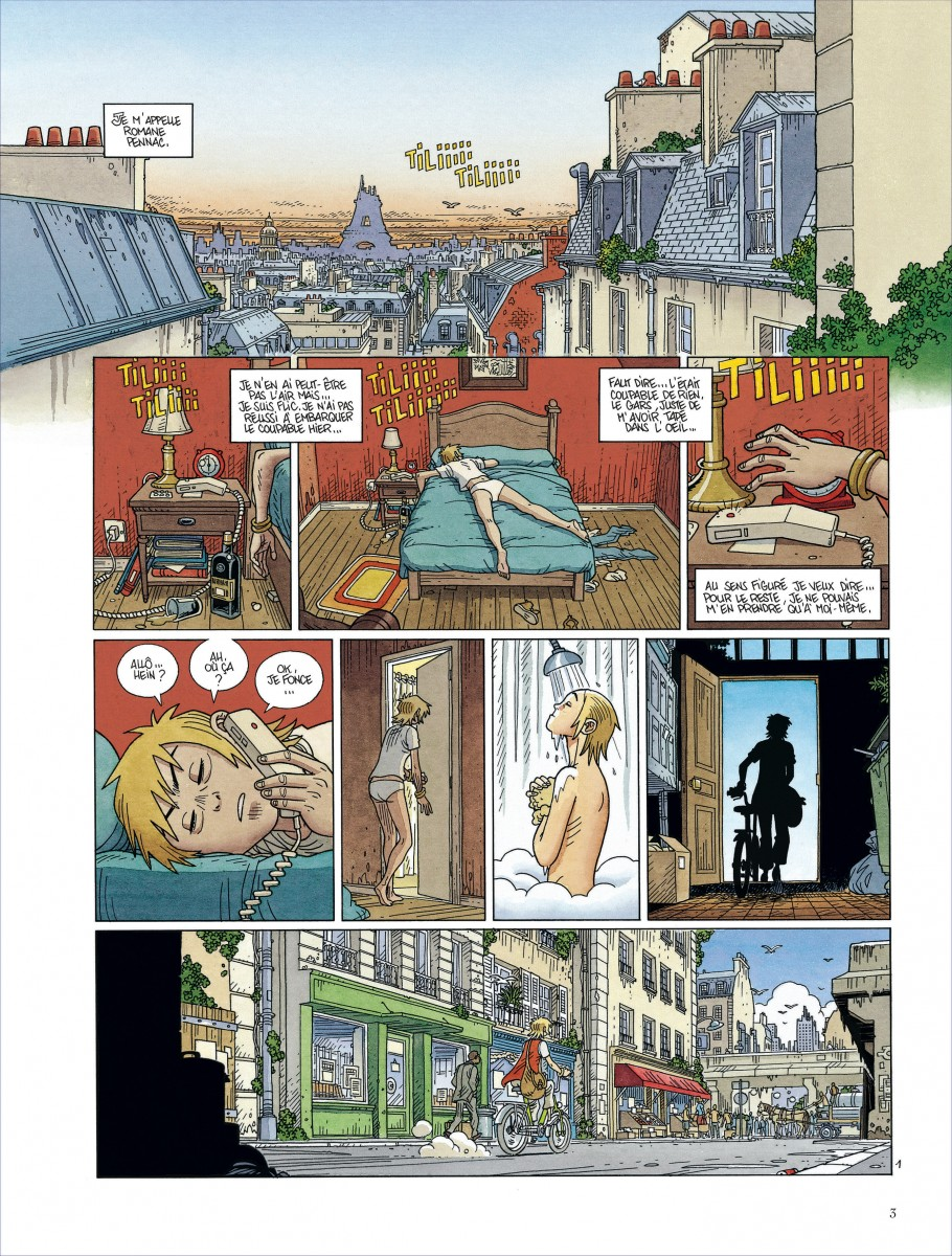 Mermaid Project, planche du tome 1
