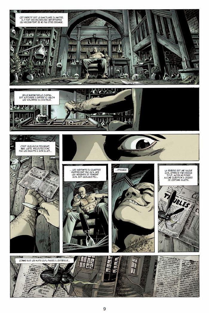 Mister Hyde contre Frankenstein, planche