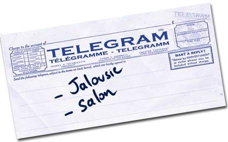 un télégramme