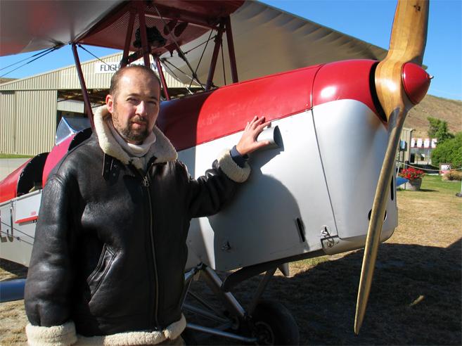 Olivier Bleys paré au décollage