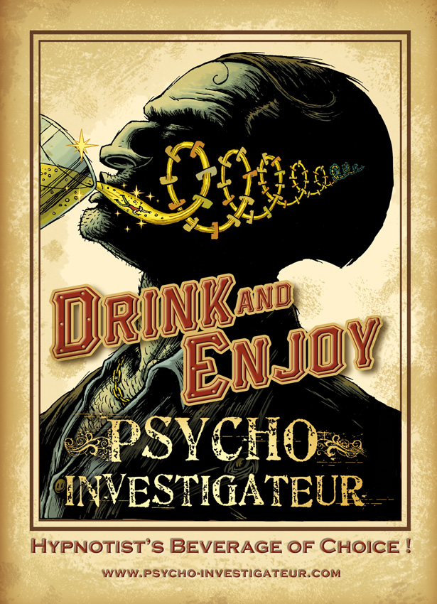 Psycho-Investigateur, Drink & Enjoy © Physalis / Dahan / Courbier