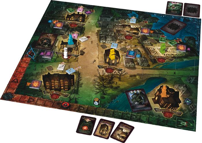 Salem, le plateau de jeu
