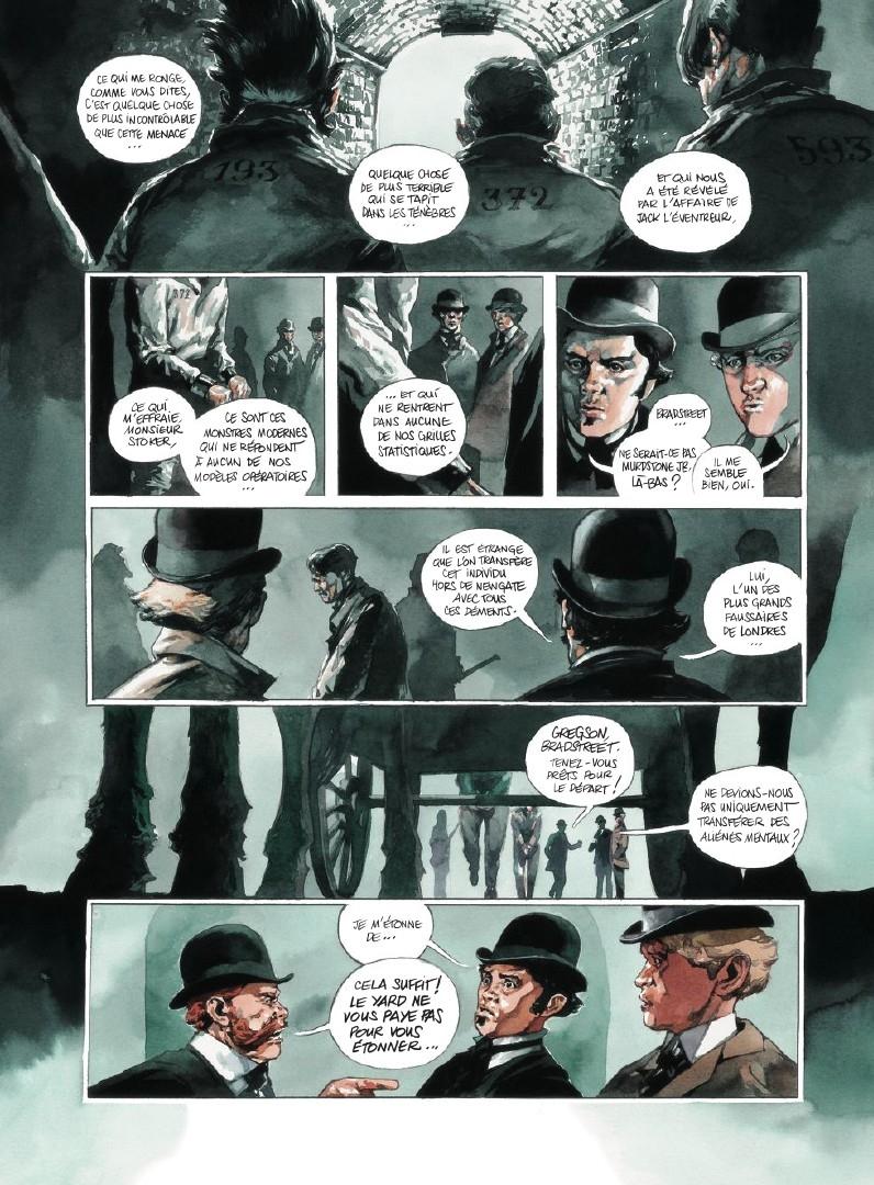 Scotland Yard, planche du tome 1