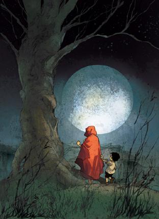 Le signe de la Lune, ex libris fantasmagories