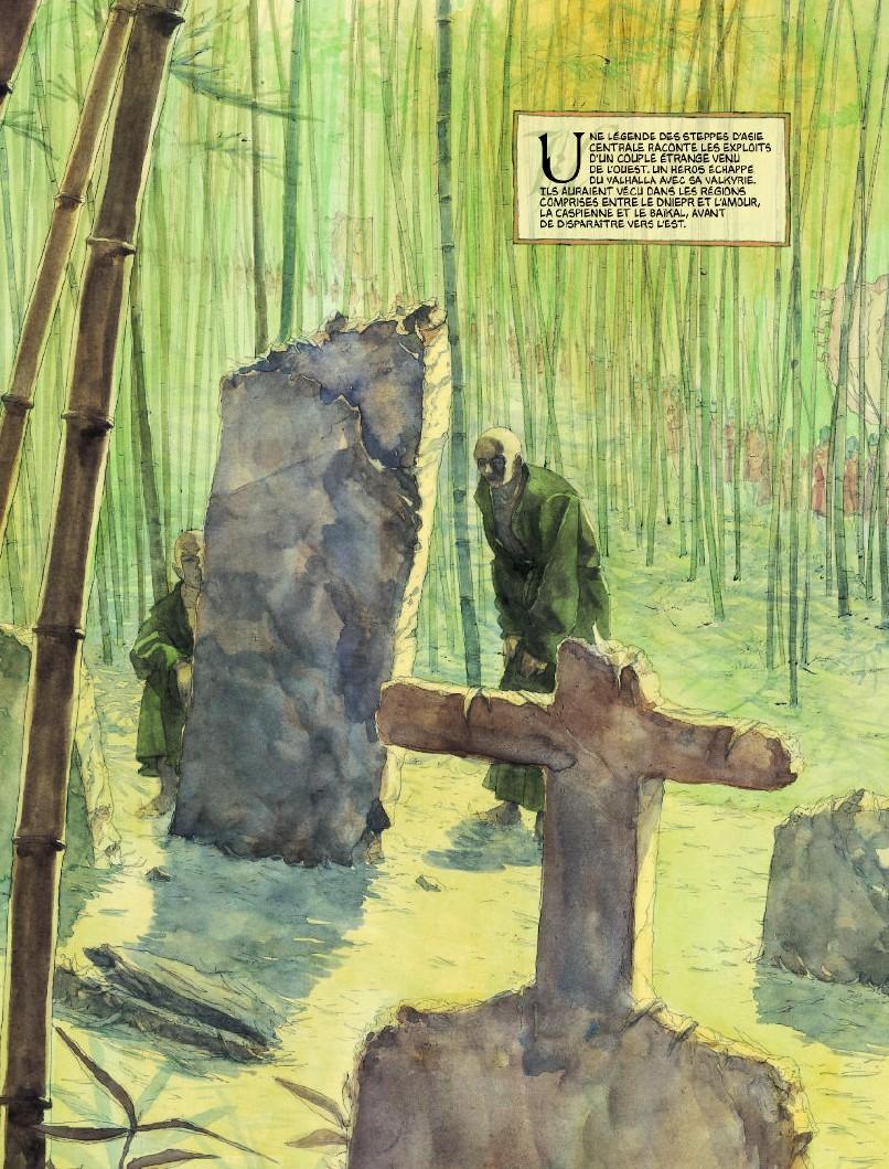 Sigurd et Vigdis, planche du tome 1