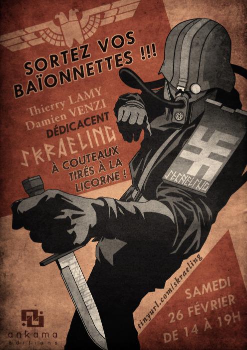 Affiche de propagande © Damien Venzi