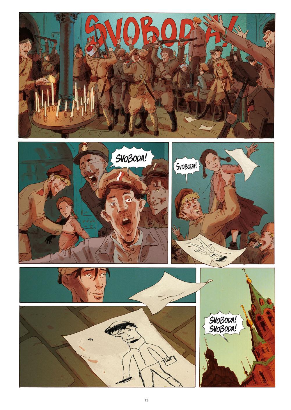 Svoboda!, planche du tome 2