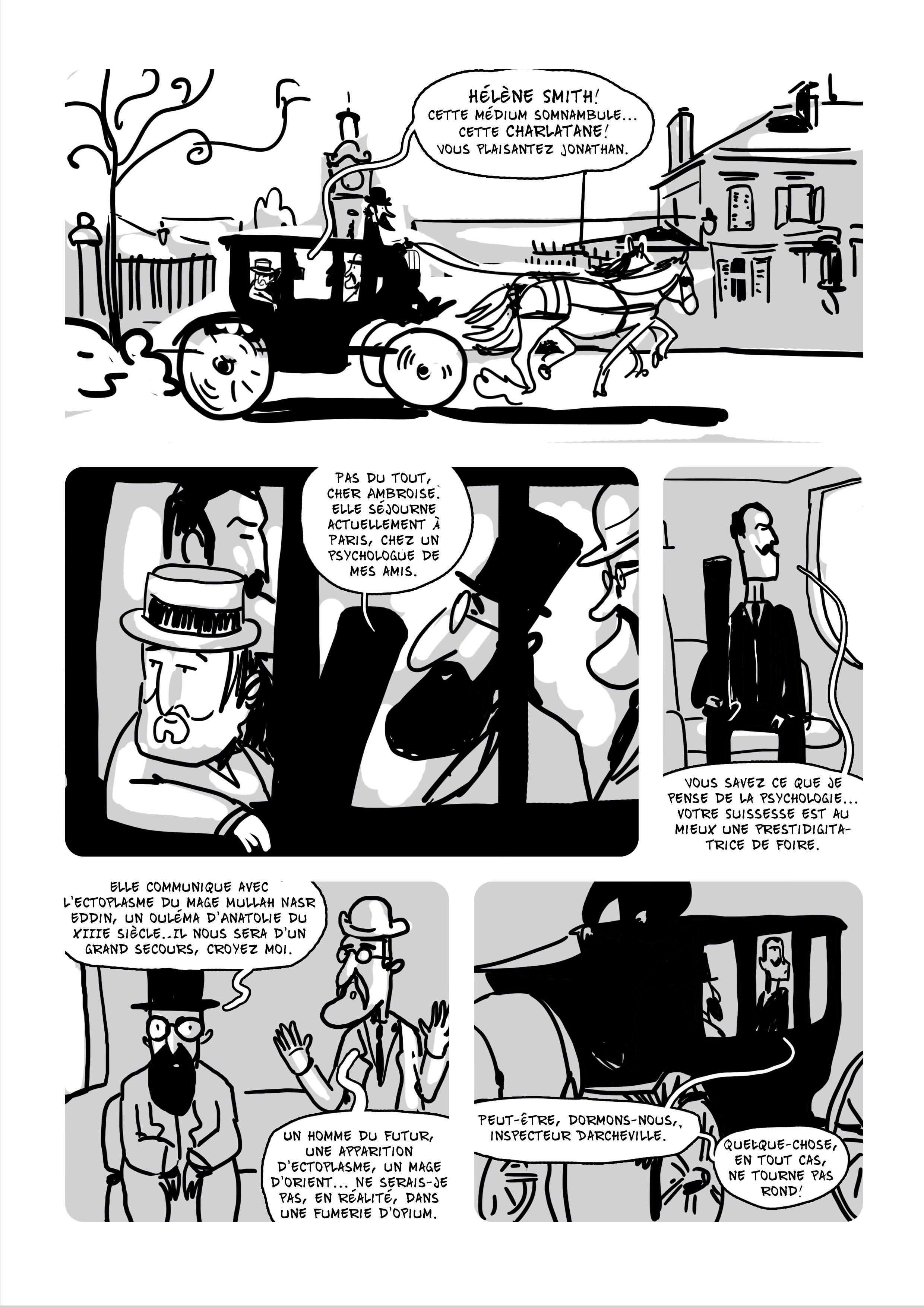 Storyboard de la page 8 de l'Arcane sans Nom