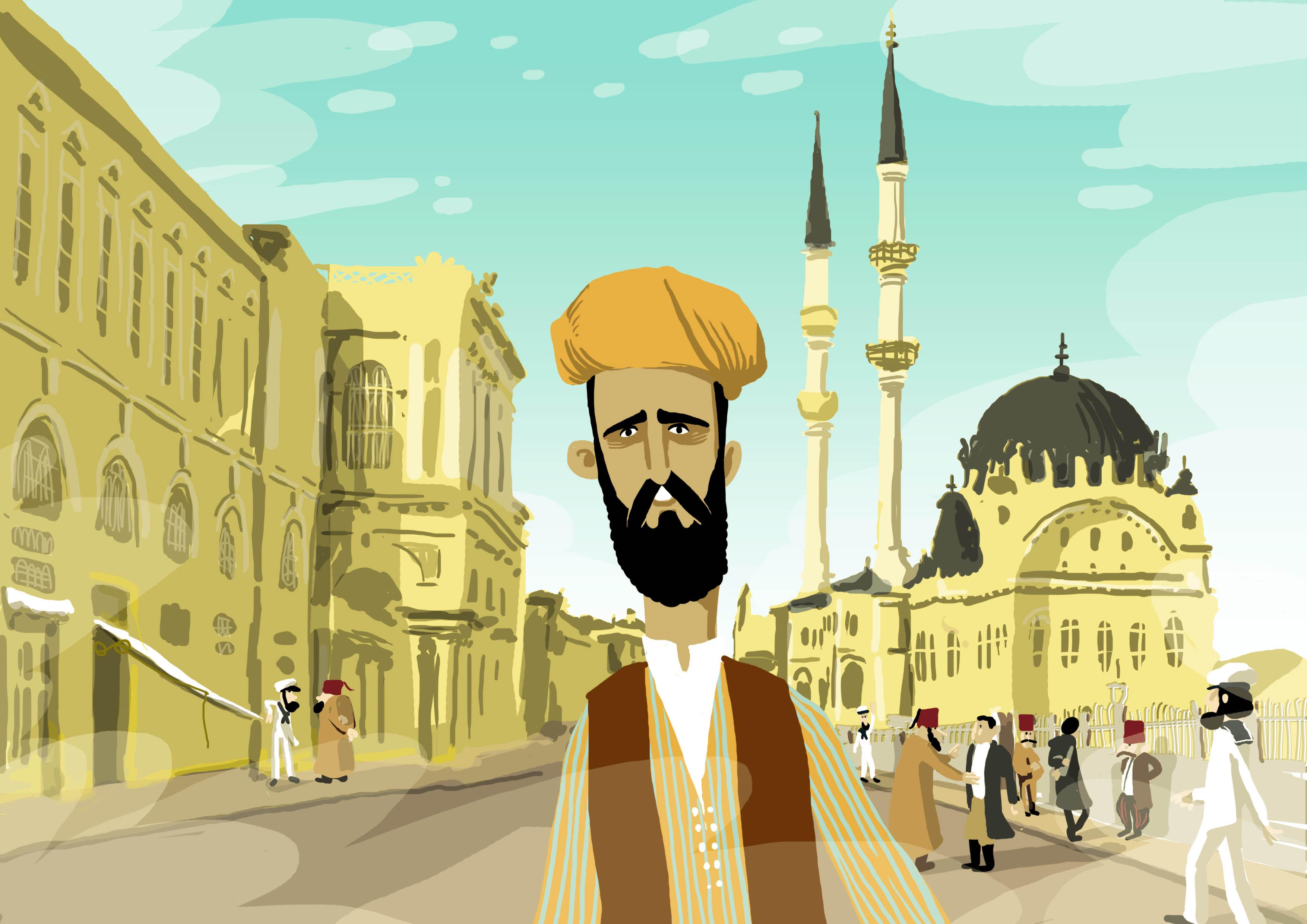 Recherche sur le personnage d'Akim à Constantinople