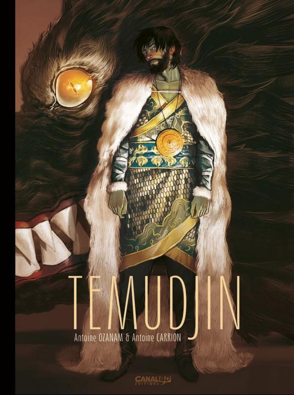 Temudjin, couverture de l