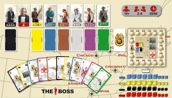 The Boss, materiel [Photo Editeur]