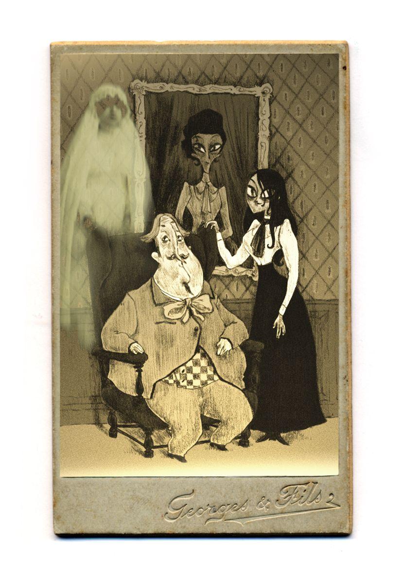 personnages de Chambres Noires © Vents d&#39Ouest / Dumont / Bleys
