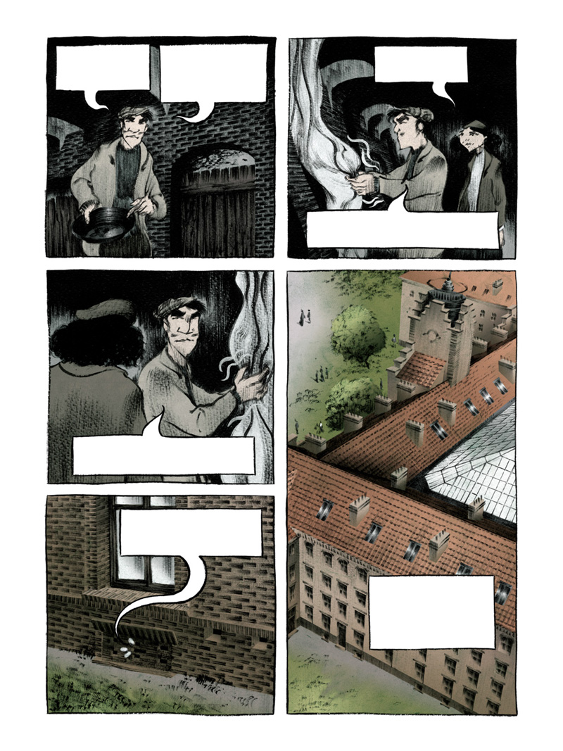 Planche 84 version couleur © Casterman / David François