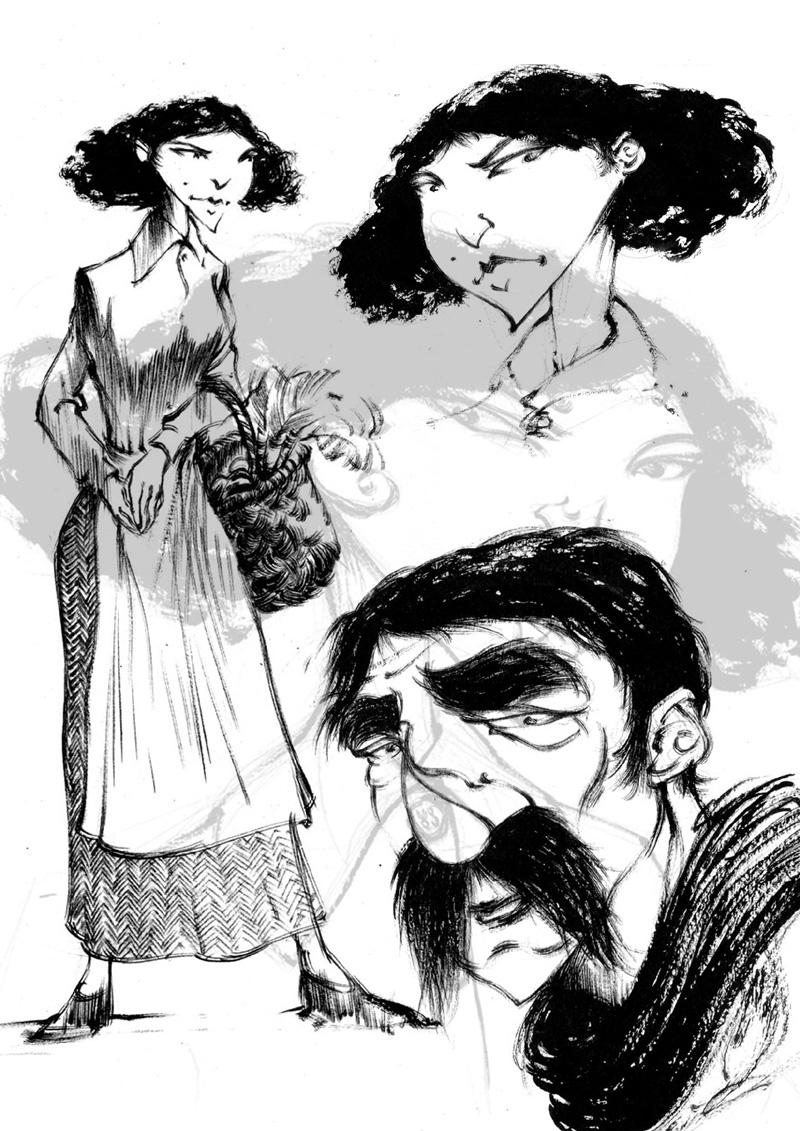 Recherche de personnages © David François