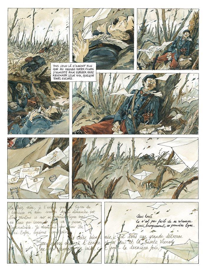 Notre Mère la Guerre, planche tome 1