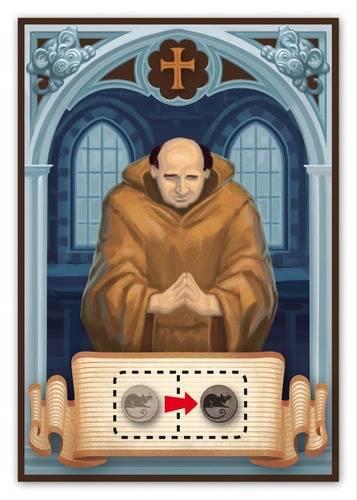 Rattus, carte personnage [le moine]