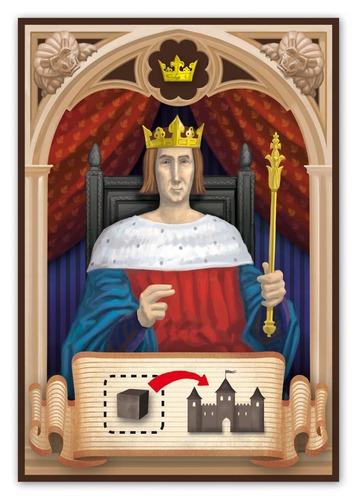 Rattus, carte personnage [le Roi]
