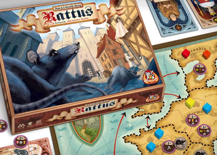 Rattus, le matériel