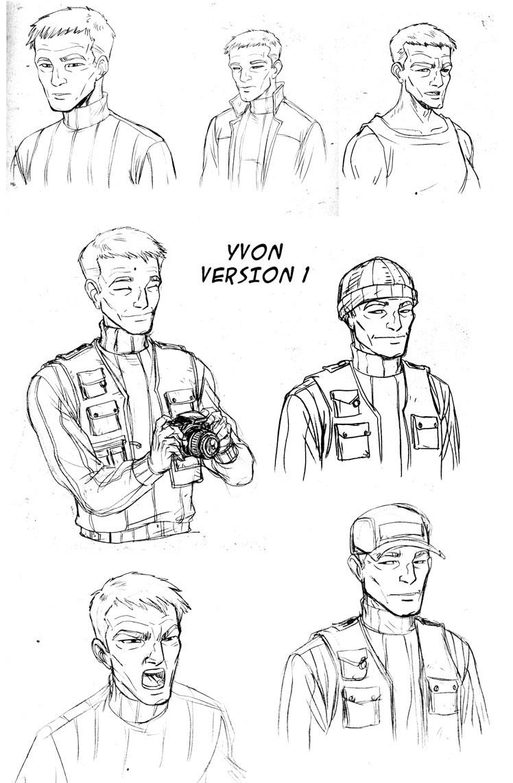 Recherche pour le personnage d'Yvon©Ullcer